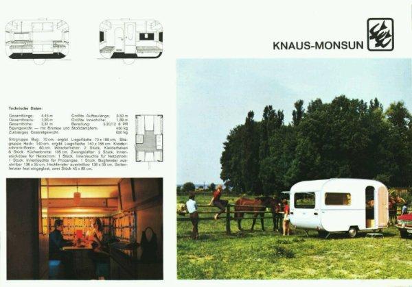 KNAUS MONSUN 1970
