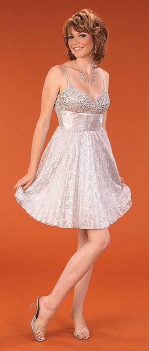 robe soirée blanc