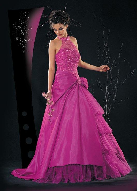 robe soirée rose ( 4 ) super