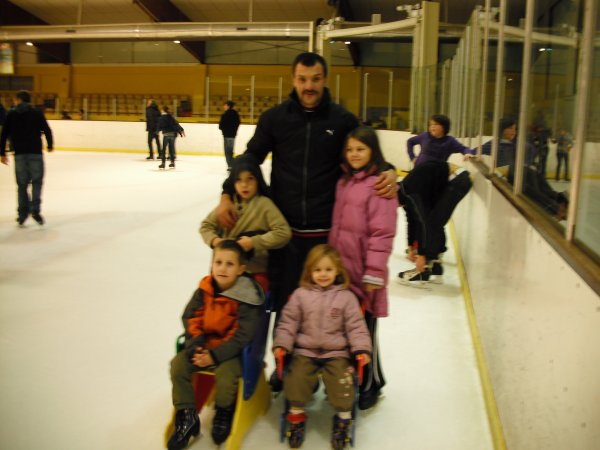 en mode patinoire