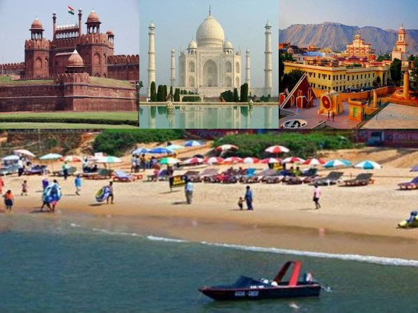 North India Tour magic with Most Visited Goa Beaches