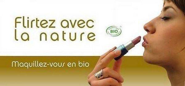 Maquillez vous en Bio !