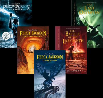Percy Jackson livres
