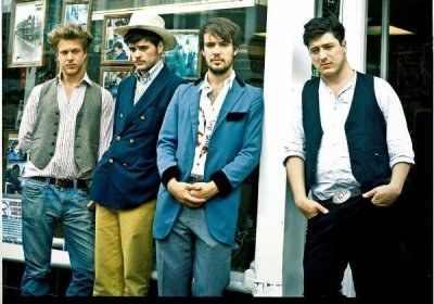 Mumford and Sons a band i never knew about but i've known their sister my whole school life.