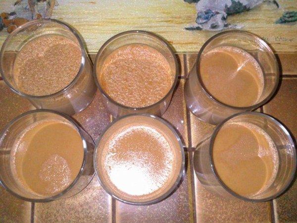 Petits pots de crème aux Carambars