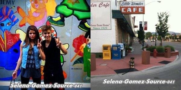 Selena et Justin ont étais vue au Japon .