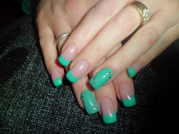 Pose en gel couleur vert jadooore