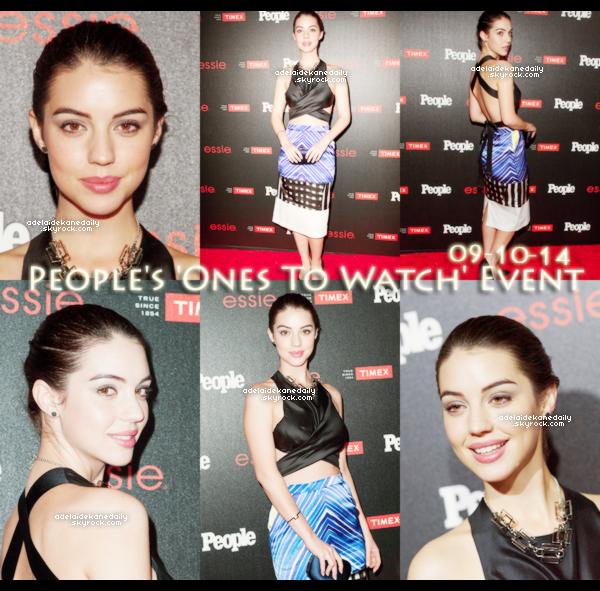 09 Octobre 2014 - Adelaide, tout comme Holland Roden, Bethany Joy Lenz, s'est rendue a l'événement Ones To Watch organisé par le magazine People au Line.