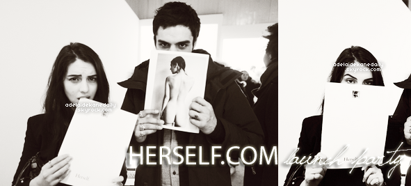 10 Janvier 2015 - Adelaide et ses co-stars de Reign sont allés soutenir Caitlin (Kenna) lors lancement de son site internet Herself.com.