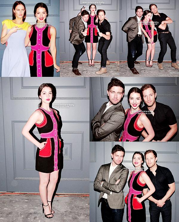06 Mai 2015 - Adelaide, Alyssa, Torrance, Jonathan, Laysla et d'autres amis étaient au  Social Co. Dinner Party a West Hollywood