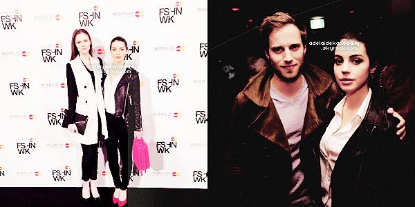 27 Mars 2015 - Adelaide, Alyssa et Jonathan étaient à la Fashion Week de Toronto organisée par World MasterCard.