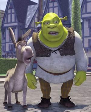Shrek Et L âne Croque Le Vie à Pleine Dents Comme Dans Une