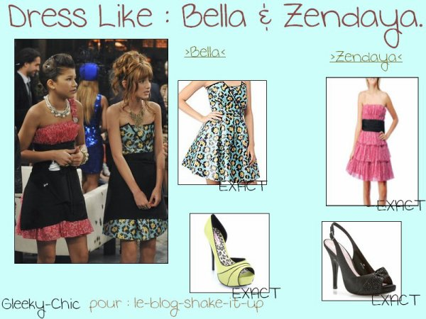 Dress like et photo de la saison 2 shake it up