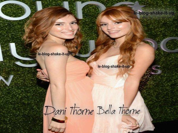Bella Thorne et sa soeur Dani