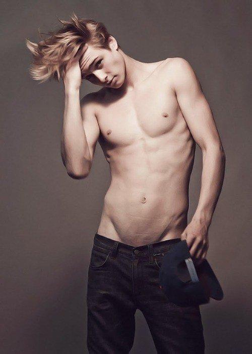 bo goss en jeans=)