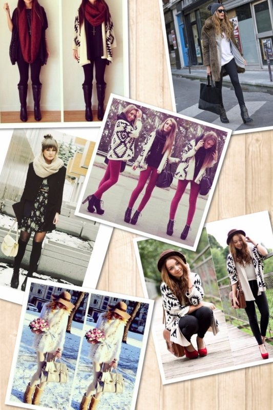 Outfits for winter Inspirations !
