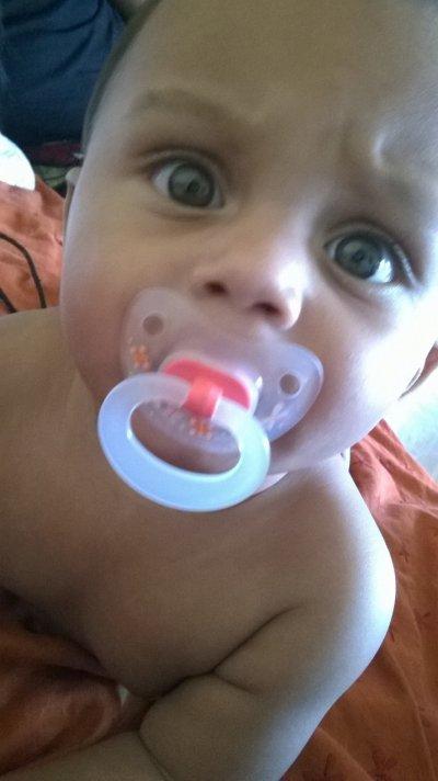 Mon petit Homme Enzo Mon.fils 7Mois