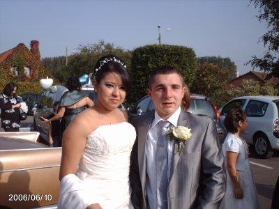 Mariage de Farida & Cyril le 09/10/2010