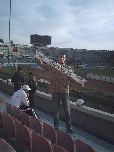 ااانا في الملعب محمد الخامس  وديما الرجاء العالمي