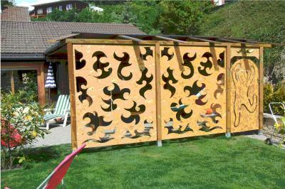 vous voulez une palissade originale guy courtine. Black Bedroom Furniture Sets. Home Design Ideas