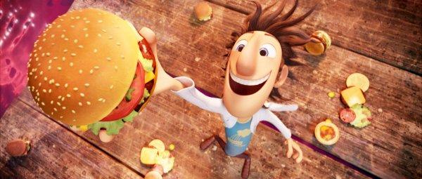Critique no. 7 Cloudy with a chance of Meatballs (Il pleut des hamburgers)
