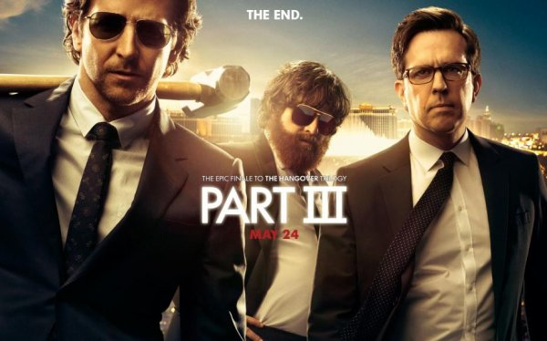 Critique no. 21 - The hangover 3 (Very bad trip 3 ou Lendemain de veille 3)