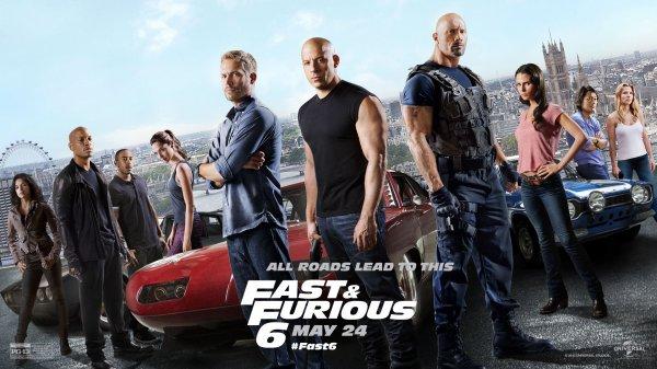 Critique no. 22 - Fast and Furious 6 (Rapide et dangereux 6)