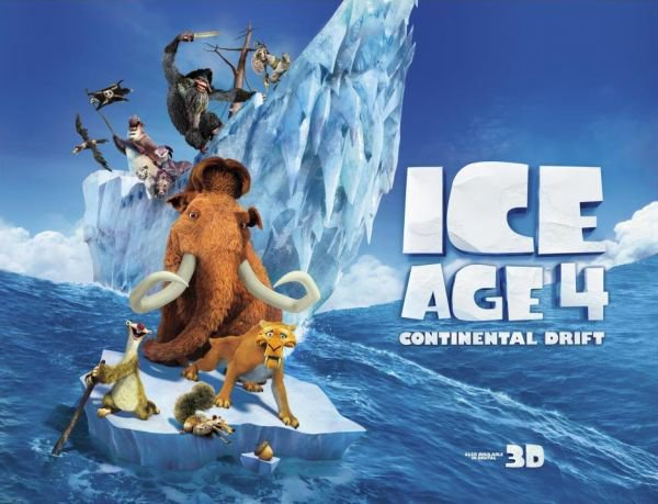 Critique no. 45 - Ice age:  Continental Drift (l'Âge de glace: la dérive des continents)