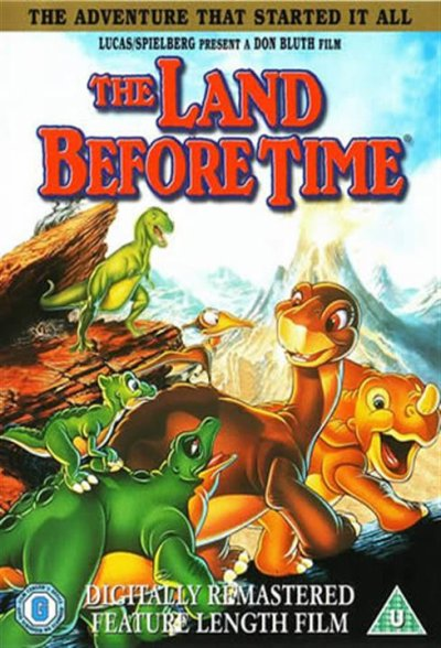 Critique no. 52 - The land before time (Petit-Pied, le dinosaure)