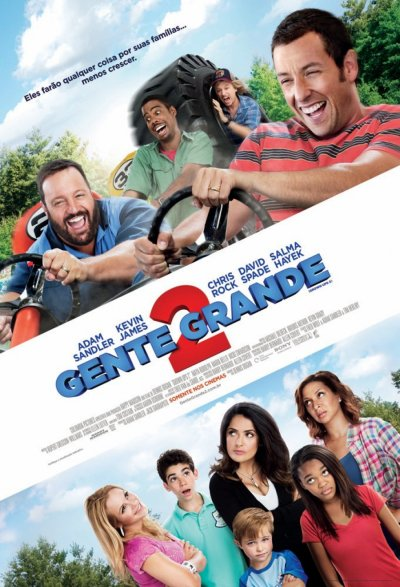 Critique no. 59 - Grown ups 2 (Grandes personnes 2)