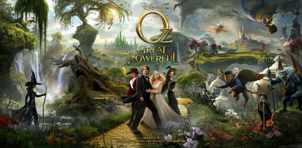 Critique no. 76 - Oz: The great and the powerful (Le monde fantastique d'Oz)