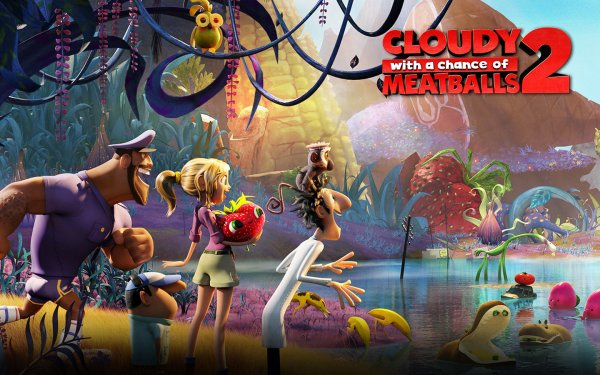 Critique no. 81 - Cloudy with a chance of meatballs 2 (Il pleut des hamburgers 2)