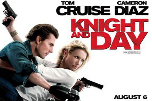 Critique no. 87 - Knight and day (Nuit et jour)