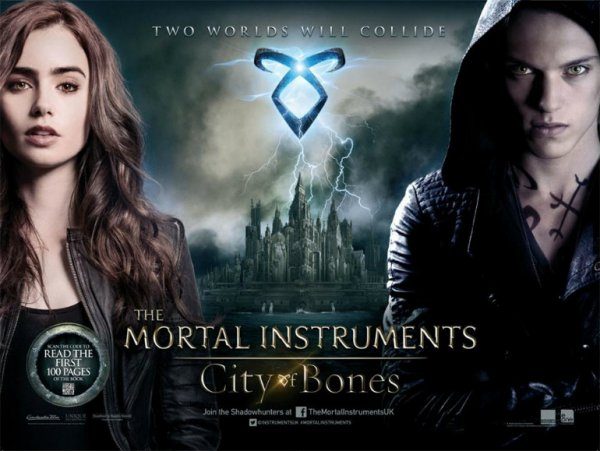Critique no. 94 - The mortal instruments (La cité des ténèbres)