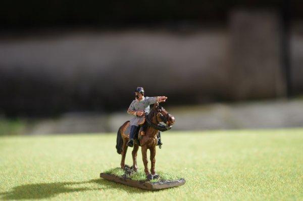 Major Walter Herron Taylor aide de camp armée confédérée de Virginie du nord