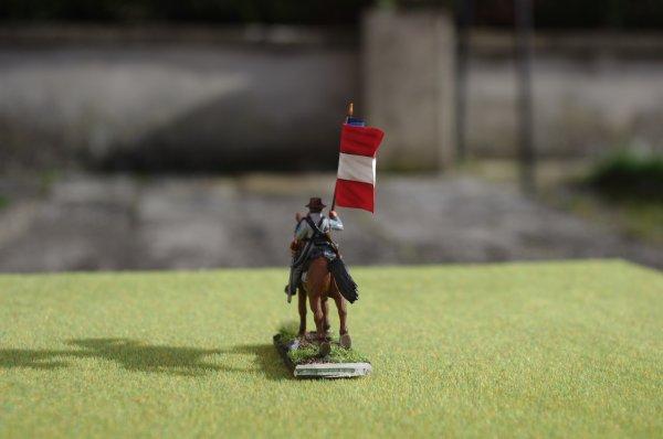 Premier porte-drapeau armée confédérée de Virginie du nord