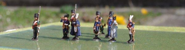 Napoléon 1er et son état-major à la bataille de Reims 1814