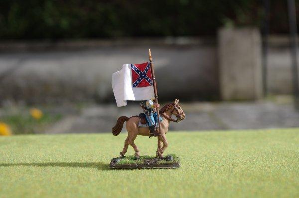 Deuxième porte-drapeau de l'état-major armée confédérée de Virginie du nord