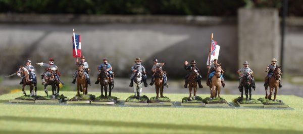 Etat-major confédérée armée de Virginie du nord.