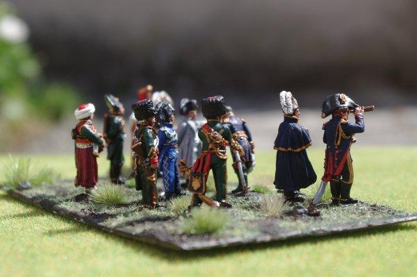 Diorama bataille de Reims du 13 Mars 1814 l'ensemble au complet