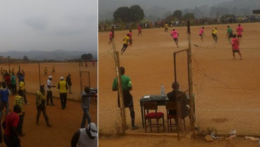 Accès en première division au Cameroun