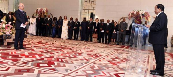 V½ux 2015 : Discours du Chef de l'Etat en réponse aux v½ux du Corps Diplomatique