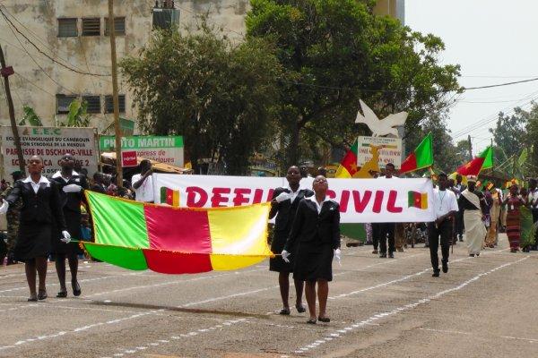 20 MAI 2015 : CELEBRATION DE LA 43eme EDITION   FETE DE L'UNITE DU CAMEROUN DANS LA VILLE DE DSCHANG.