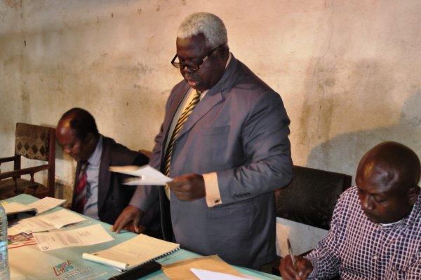 Bamendou: Assemblée générale  ordinaire  de  la  MC2  Bamendou  pour  le  compte  de  l'année  2015.