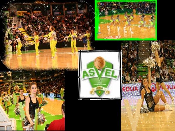 ☆         l'équipe  de  danse  de l'ASVEL         ☆