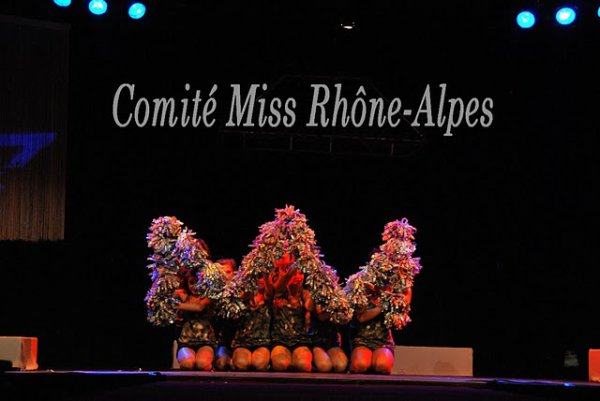 ** Election Miss RHONE ALPES **