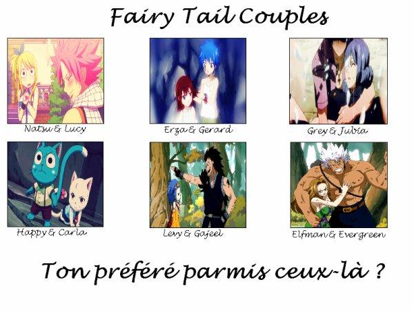 L'amour dans Fairy Tail