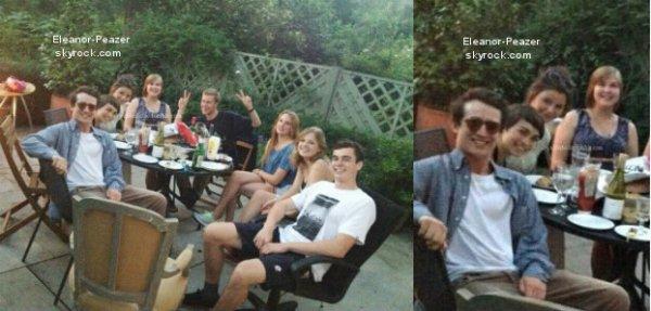 Eleanor avec des amis