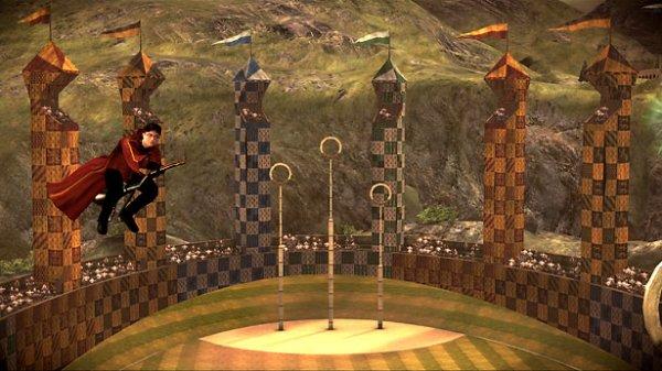 Le terrain de Quidditch
