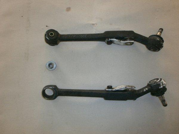 Montage de rotule unibal en remplacement des silenbloc de bras inferieur avant.